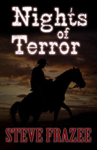 9781410458155: Nights of Terror: Western Stories (Wheeler Large Print Western)