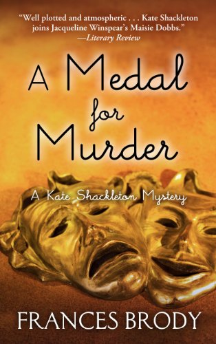 A Medal for Murder (Thorndike Press Large Print Mystery Series): Brody, Frances