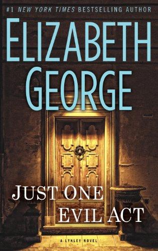 9781410460400: Just One Evil Act (An Inspector Lynley Novel)
