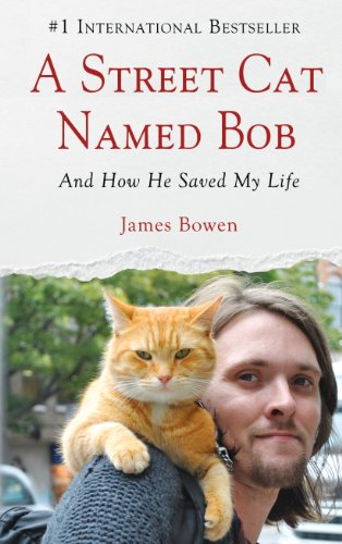 9781410462305: A Street Cat Named Bob: And How He Saved My Life (Wheeler Large Print Book Series)