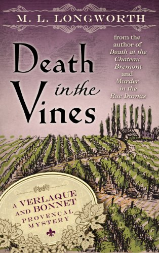 9781410462336: Death in the Vines (Verlaque and Bonnet Provencal Mysteries)