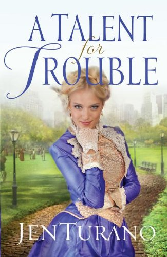 9781410463371: A Talent for Trouble (Thorndike Christian Historical Fiction)