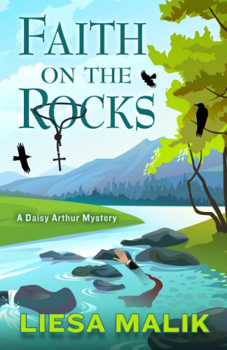 9781410463821: Faith on the Rocks (Daisy Arthur Mystery: Wheeler Large Print Cozy Mystery)