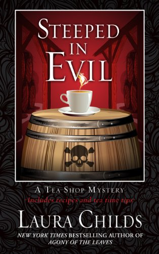 9781410464026: Steeped in Evil (Tea Shop Mysteries)