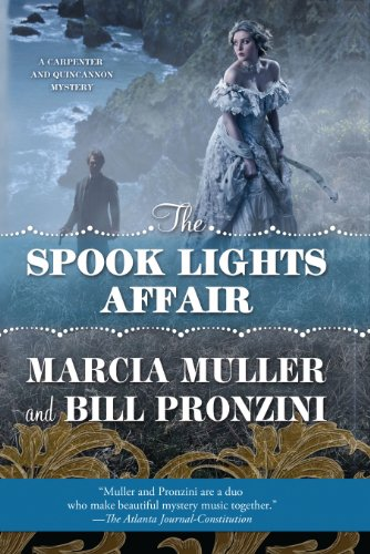 9781410464347: The Spook Lights Affair (A Carpenter and Quincannon Mystery)