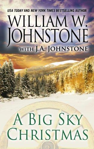9781410464811: A Big Sky Christmas (Thorndike Large Print Western)