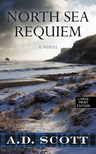 9781410465047: North Sea Requiem (Thorndike Large Print Crime Scene)