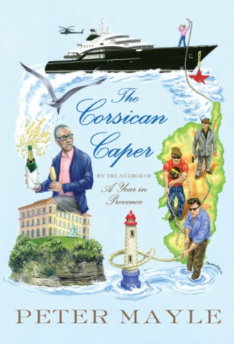 9781410467805: The Corsican Caper: A novel (Thorndike Press Large Print Mystery)