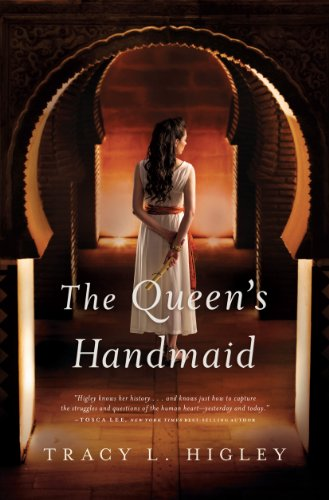 The Queen's Handmaid (Thorndike Press Large Print Christian Historical Fiction): Higley, Tracy...