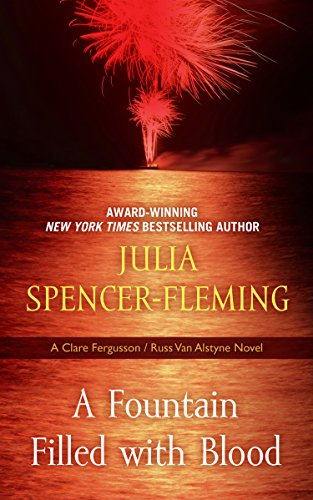 A Fountain Filled with Blood (Thorndike Press Large Print Mystery Series): Spencer-Fleming, Julia