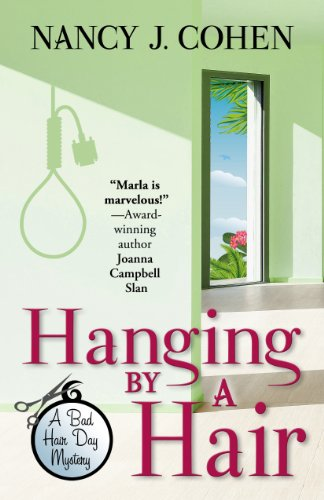 9781410470812: Hanging by a Hair (Bad Hair Day Mystery: Wheeler Publishing Large Print Cozy Mystery)