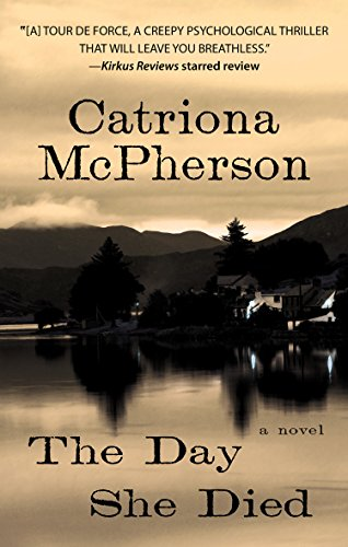 9781410471017: The Day She Died (Thorndike Press Large Print Mystery)