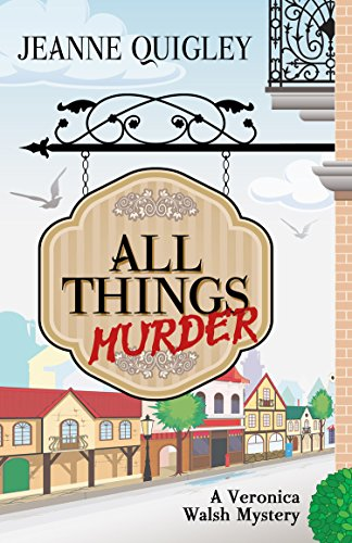 9781410471208: All Things Murder (Veronica Walsh Mystyery: Wheeler Publishing Large Print Cozy Mystery)
