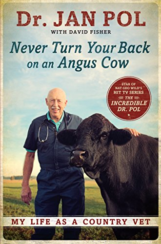 9781410473486: Never Turn Your Back On An Angus Cow