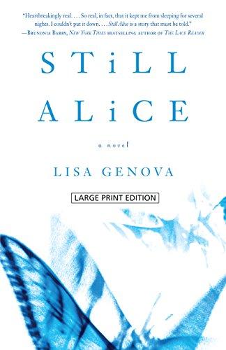 Still Alice (Wheeler Publishing Large Print Hardcover): Genova, Lisa