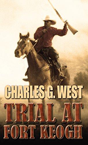 9781410480040: Trial At Fort Keogh (Thorndike Large Print Western)