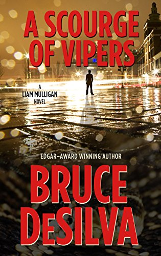 9781410480446: A Scourge of Vipers (Liam Mulligan: Thorndike Press Large Print Crime Scene)