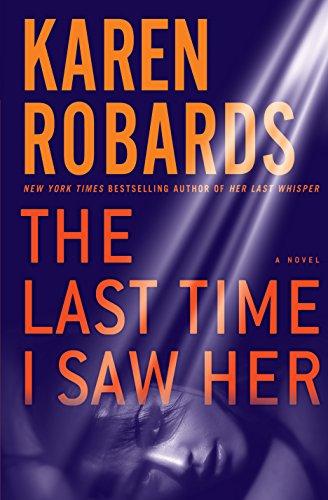 9781410480484: The Last Time I Saw Her (Wheeler Publishing Large Print Hardcover)
