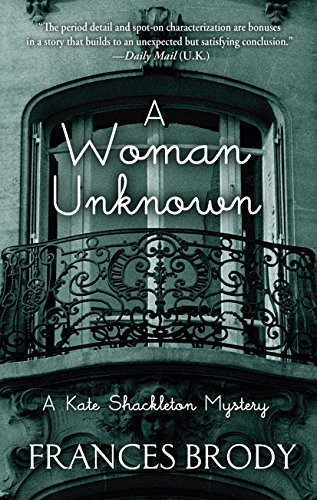 9781410480996: A Woman Unknown (A Kate Shackleton Mystery)
