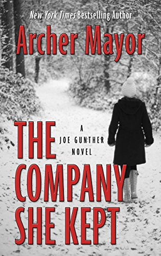 9781410483508: The Company She Kept (Thorndike Large Print Crime Scene)