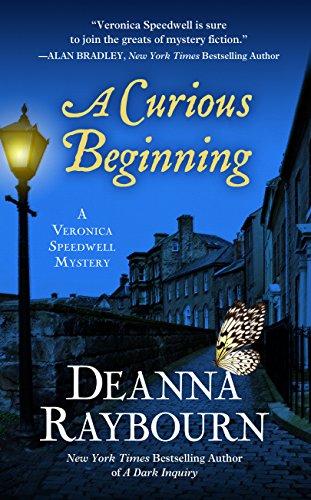 9781410486011: A Curious Beginning (A Veronica Speedwell Mystery)
