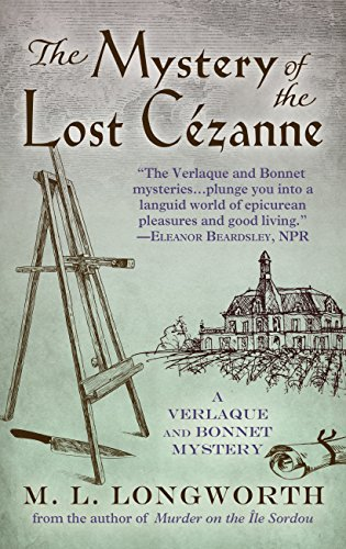 9781410486929: The Mystery of the Lost Cezanne (A Verlaque and Bonnet Mystery)