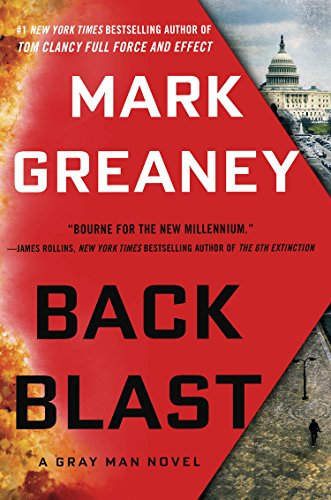 9781410487353: Back Blast (Gray Man: Thorndike Press Large Print Core)