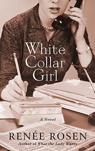 9781410489036: White Collar Girl (Thorndike Press Lrge Print Historical Fiction)