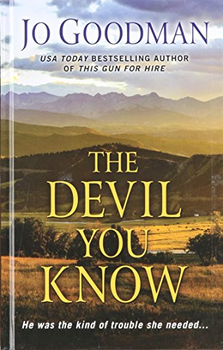 9781410489760: The Devil You Know (Thorndike Romance)