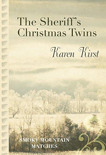 9781410492418: The Sheriff's Christmas Twins (Smoky Mountain Matches)