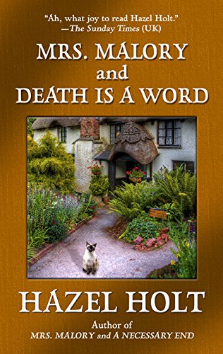 9781410495242: Mrs. Malory and Death is a Word (A Sheila Malory Mystery)