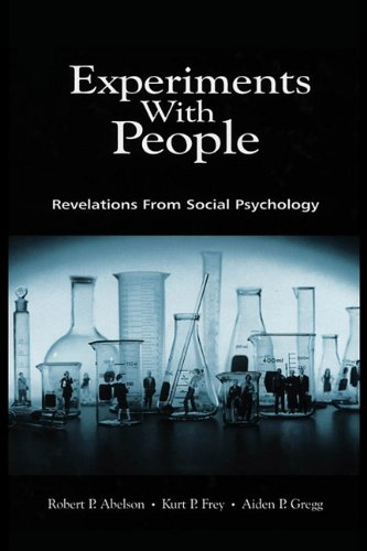 9781410609274: Experiments with People: Revelations from Social Psychology