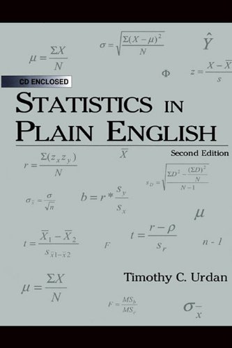 9781410612496: Statistics in Plain English