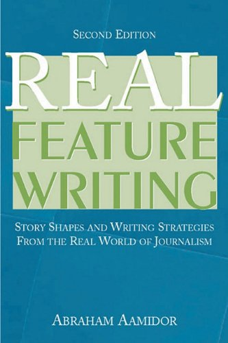 9781410614070: Real Feature Writing (Lea's Communication Series)