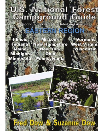 9781410728982: U.S. National Forest Campground Guide - Eastern Region
