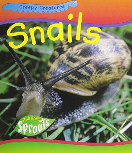 9781410906519: Snails (Creepy Creatures)