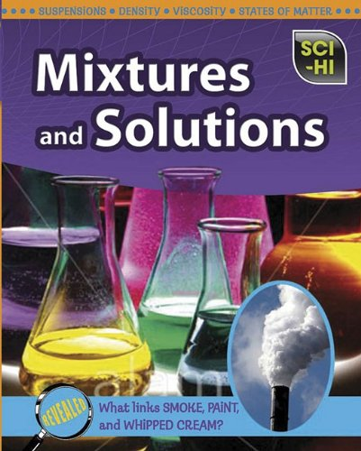 9781410933812: Mixtures and Solutions (Sci-Hi: Physical Science)