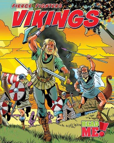 Vikings (Fierce Fighters: Read Me!, Level M): Charlotte Guillain