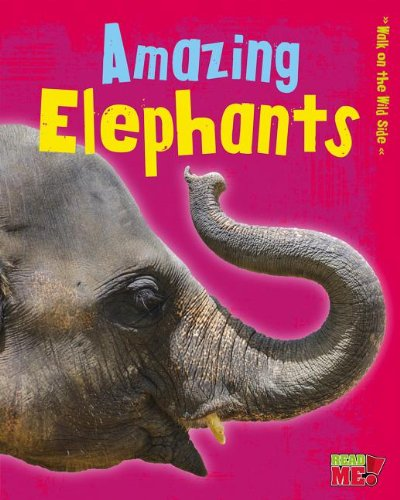 Amazing Elephants (Walk on the Wild Side): Charlotte Guillain