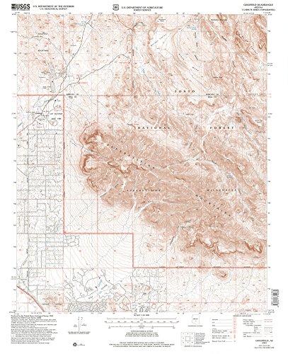 9781411314030: Goldfield, Arizona 7.5' (US Topo 7.5'x7.5' Quadrangle)