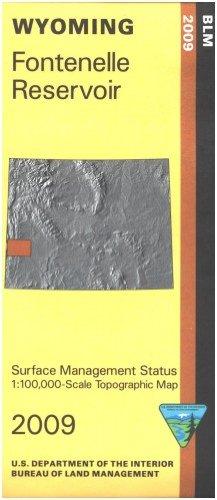 9781411324688: Map: Fontenelle Reservoir - Surface Management