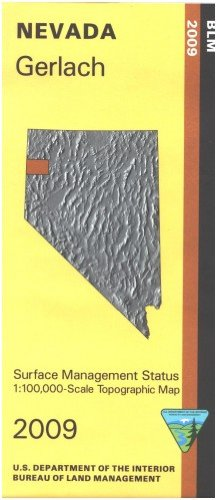 9781411326453: Map: Gerlach - Surface Management