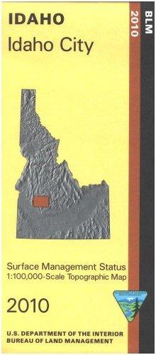 9781411329966: Map: Idaho City - Surface Management