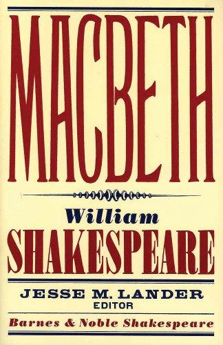 9781411400375: Macbeth (Barnes & Noble Shakespeare)