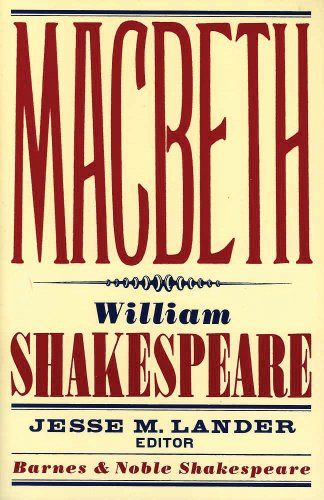 9781411400375: Macbeth (Barnes & Noble Shakespeare)