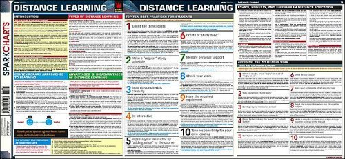 9781411400597: Distance Learning SparkCharts SparkNotes English Reference Series
