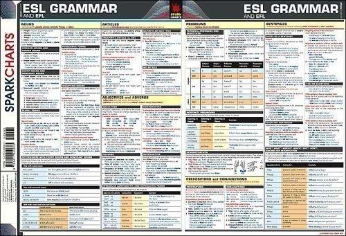 9781411400603: ESL-EFL Grammar SparkCharts