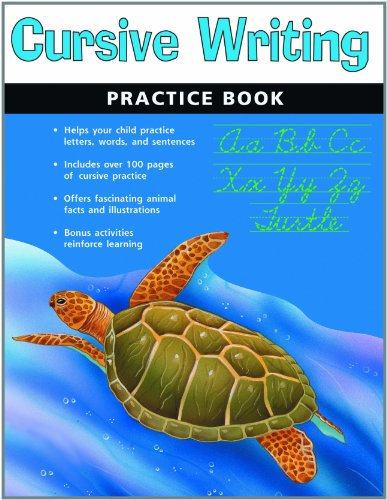 9781411400863: Cursive Writing Practice Book (Flash Kids Harcourt Family Learning)