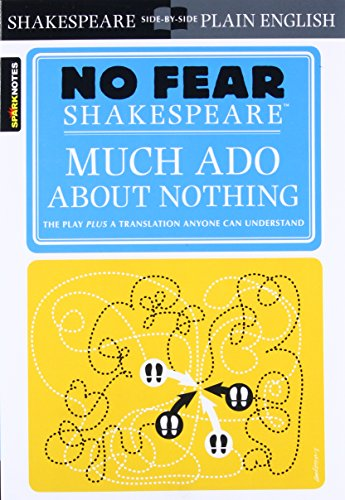 9781411401013: Sparknotes Much Ado About Nothing