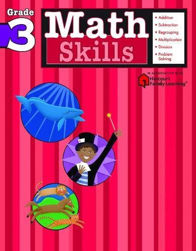 Math Skills: Grade 3 (Flash Kids Harcourt